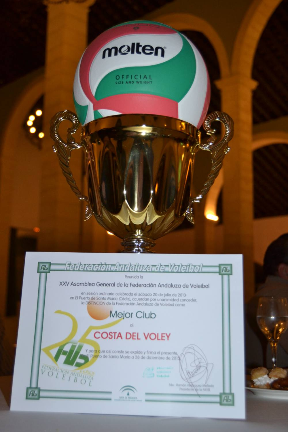 Costa del Voley. Mejor Club 2013